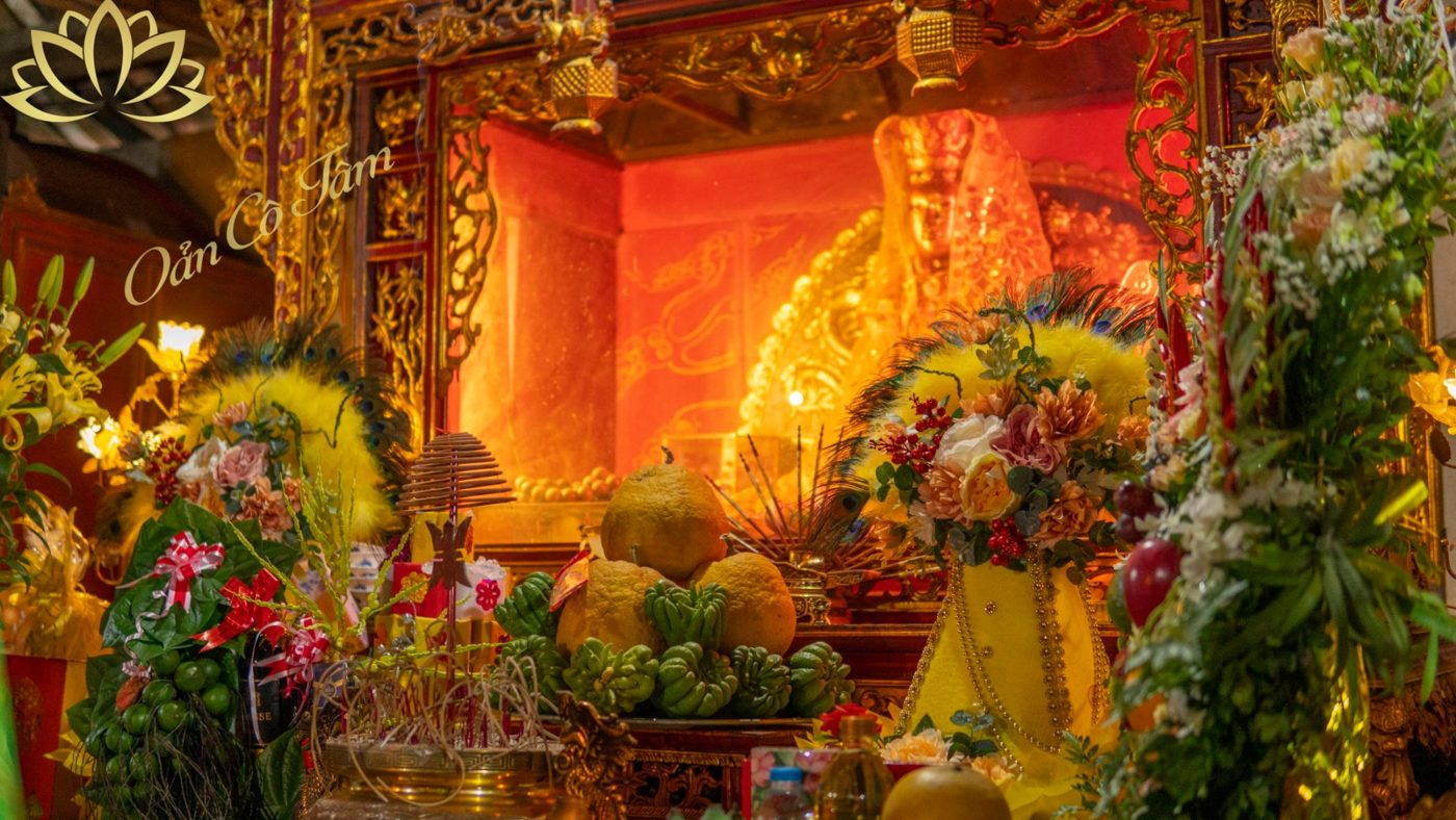 Đền ghênh thờ Nguyên Phi Ỷ Lan