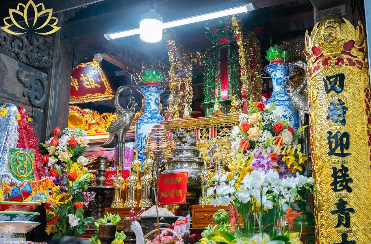 đền thờ mâu đệ nhất