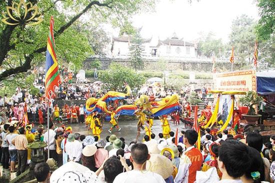 lễ hội đền an cao phụ