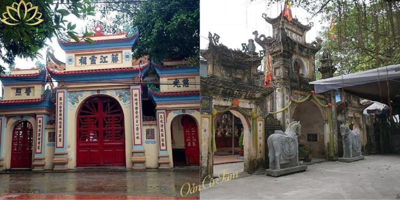 đền thờ quan lớn đệ tam