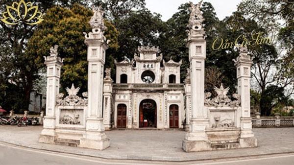 Thăng Long tứ trấn đền quán thánh