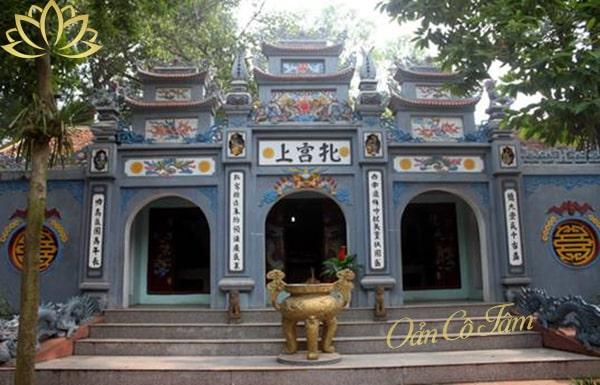 đền thờ đức thánh tản