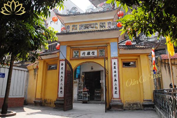 địa chỉ chùa liên phái