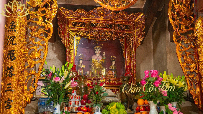 đền sòng thờ mẫu đệ nhất